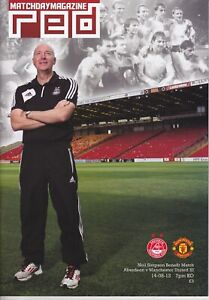 Aberdeen v Manchester United 14 Aug 2012 Neil Simpson