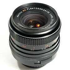 Carl Zeiss 35mm f2.4 electric Flektogon MC Prime Lens M42 with Caps UK Fast Post