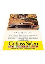 1974 Oldsmobile Cutlass Salon -  Vintage Advertisement Car Print Ad J414