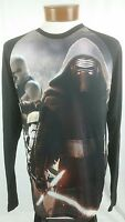 Star Wars Long Sleeve T-Shirt Kylo Ren Official Licensed The Force Awakens Top L