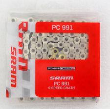 Sram PC991 X0 9 Spd Speed  114 Link MTB Road Bike Chain