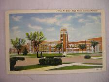 VINTAGE LINEN POSTCARD J.W. SEXTON HIGH SCHOOL LANSING MICHIGAN