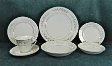 """87-PIECES (OR LESS) OF BEAUTIFUL """"FORGET ME NOT-BLUE"""" PAT FINE JAPAN CHINA"""