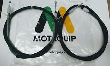 REAR HANDBRAKE CABLE PAIR FOR VAUXHALL VIVARO, NISSAN PRIMASTAR, RENAULT TRAFIC