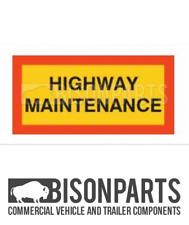 + Camion & Rimorchio Marcatore Board Highway Coppia di manutenzione in alluminio BP76-175