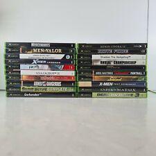 20  Original OG Xbox Game Collection Bundle Job Lot video games