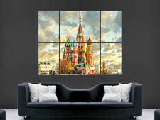 KREMLIN RUSSIA  ART HUGE  LARGE PICTURE POSTER GIANT
