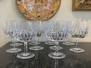 Orrefors Elisabeth Oversize 14 OZ Glass Goblets Set of 10