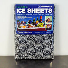 ThermaFreeze® ICE SHEETS: Damask 5-Pack