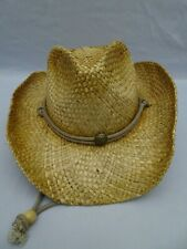 Peter Grimm Mens Straw Round Up Cowboy Hat Ombre Light Color One Size