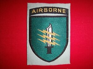 Vietnam War Silk Shoulder Patch ARVN Special Forces C-2 MSFC AIRBORNE