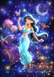 Tenyo Japan Jigsaw Puzzle DSG266-964 Disney Aladdin Jasmine (266 Pieces)