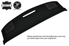 Black stitch top dash dashboard pad couverture en cuir pour corvette C4 1984-1989