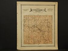 Iowa, Allamakee County map, Township of Paint Creek  1917 L3#78