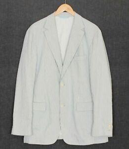 HUGO BOSS PASOLINI WX Cotton & Linen Blazer Jacket Men Size 98 / US 40 ~L MJ2389
