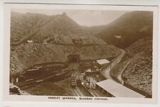 More details for wales postcard - oakeley quarries, blaenau festiniog - rp (a332)
