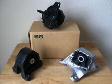 SET OF 3 ENGINE MOUNTS -- FITS: 2002-2005 HONDA CIVIC Si (M/T, 2.0L, 1998cc).