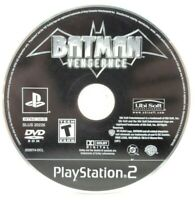 Batman Vengeance Sony PlayStation 2 PS2 Game Only