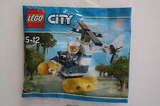Lego City 30311 Polizei Hubschrauber Helikopter Polybag NEU