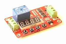 12v Relay Timer Circuit Board. Multifunction Delay PLC Module.
