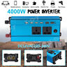 4000W Car LED Solar Power Inverter DC 12V to AC240V Sine Wave USB Converter AU
