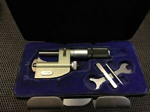 Moore & Wright micrometer. 970MF. Multi anvil 0-25mm. Uncalibrated
