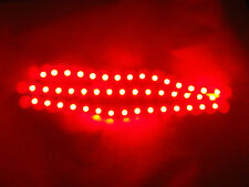 3 Super Flexible Red 15 LED Waterproof Strip Mood lights 4x4 Car Boat Motorbike