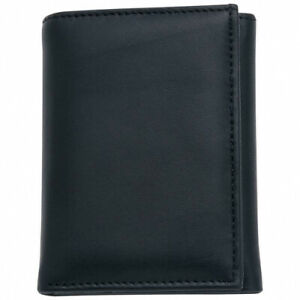 Embassy Men Solid Genuine Leather Tri-Fold Wallet for Men - Makes a good gift
