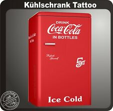 6 teiliges Drink Coca Cola Kühlschrank Aufkleber Set 5 Cent - große Farbauswahl