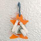 Nite Ize Curvyman Orange Cord Organizer w/Gray S-Carabiner Headset Cable Wrap