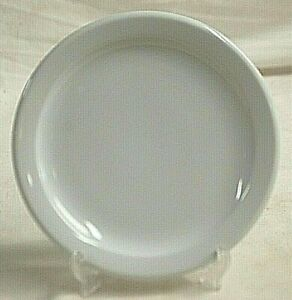 Rego Restaurant Ware White Bread & Butter Plate Stoneware Vintage Dinnerware