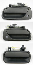 SET OF 3 PCS Outside Door Handle Black for 93-98 Toyota T100 Pickup