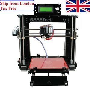 Geeetech 3D Printer Prusa I3 Pro B Acrylic DIY Support Auto Level 5 Materials