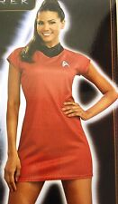 UHURA from STAR TREK HALLOWEEN COSTUME DRESS ADULT WOMEN'S SIZE MEDIUM 10-12