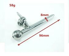 Male Urethral Sound Stainless Steel Urethral  Penis Plug Catheater 96mm