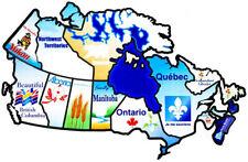 Canada sticker travel map, A Road Trip Essential – RV Stickers Travel Map
