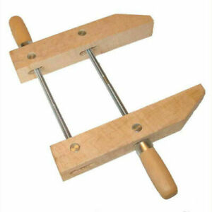 """NEW 7"""" Woodworking Clamp -- Great Hand Screw Wood Clamping Tool"""