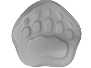 Huge Bear Paw Footprint Stepping Stone Plaster Concrete Mold  1184 Moldcreations