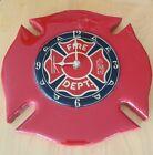 Fire department tribute clock