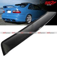 Rear Roof Window Shade Guard Visor Spoiler Wing fits 92-95 Civic 2DR Coupe