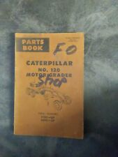 Caterpillar Motor Grader Parts Book