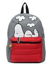 "Peanuts Snoopy on Doghouse 16"" Backpack"