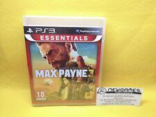 Max Payne 3 - Playstation 3 (PS3) - PRECINTADO