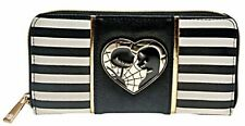 Nightmare Before Christmas Jack And Sally Hand Purse Zip Around Clutch Wallet