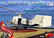 Miniart 41001 Helicopter Flettner Fl 282 V-6 Kolibri scale plastic model 1/35