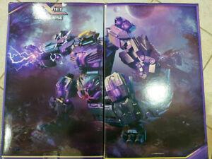 Transformers Masterpiece Planet X PX-11 Apocalypse Part A & B