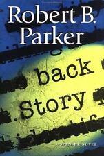 SpenMystery: Back Story by Robert Parker (2003, HCDJ) SIGNED