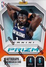 2019 - 20 Panini Prizm Basketball sealed blaster box 6 packs 4 NBA cards 1 hit