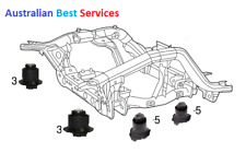 Jeep Grand Cherokee WK2 IV 3.0, 3.6L, 5.7L Engine Mount Cradle Bushings kit