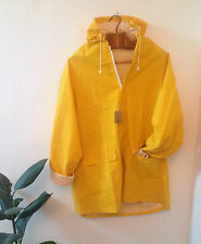 NEW YELLOW RAIN COAT / UNISEX Fisherman Mac // CLASSIC Festival jacket.